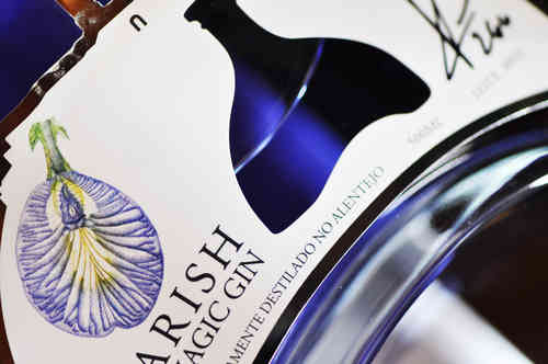 Gin Sharish Blue Magic 50cl.