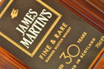 Whisky James Martins 30 Anos 70Cl.