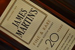 Whisky James Martins 20 Anos 70Cl. Cx