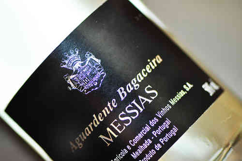 Aguardente Bagaceira Messias 500Ml.Branca