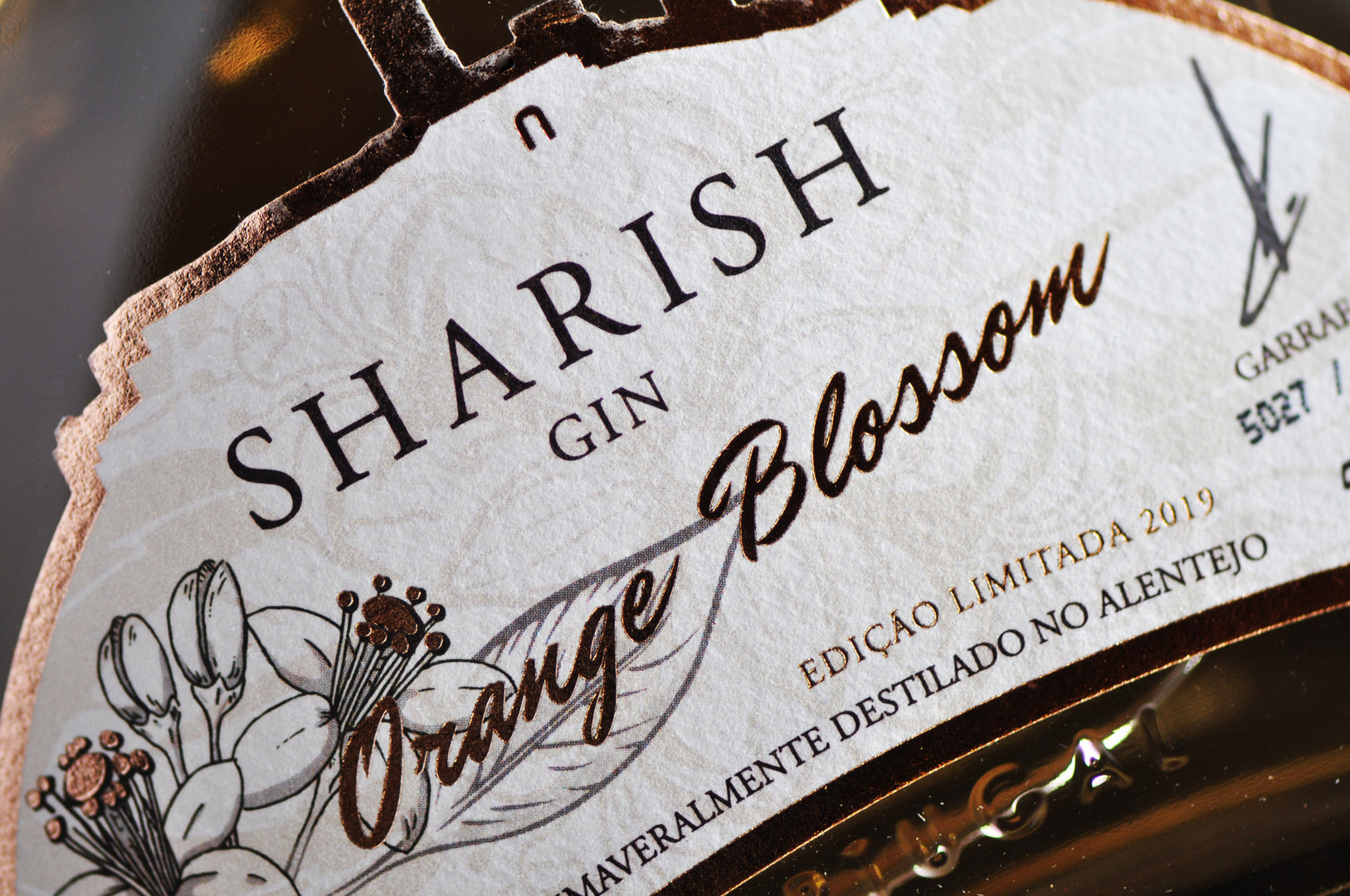 Gin Sharish Orange Blossom 50cl